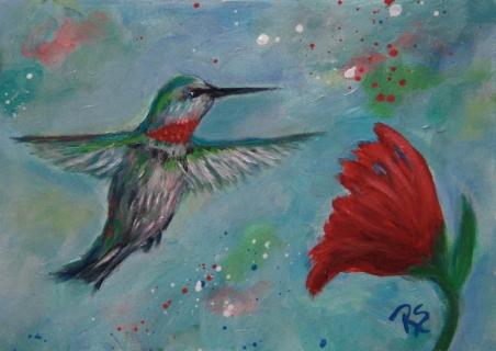 TheGardenAndTheHummingbird