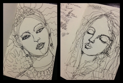 LineDrawingCollage